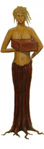 Holzfrau